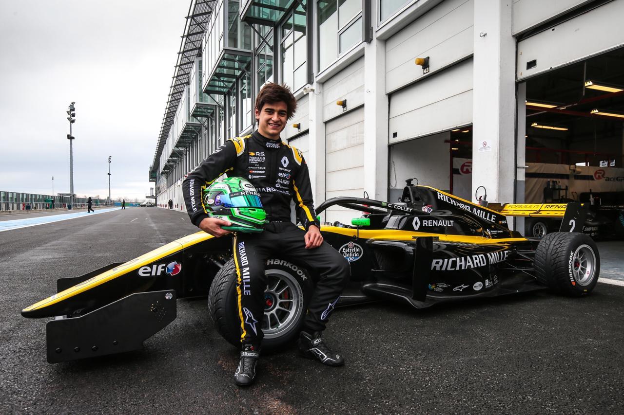 Photo of F-Renault Eurocup – Caio Collet completa três dias de testes em Magny-Cours entre os mais rápidos
