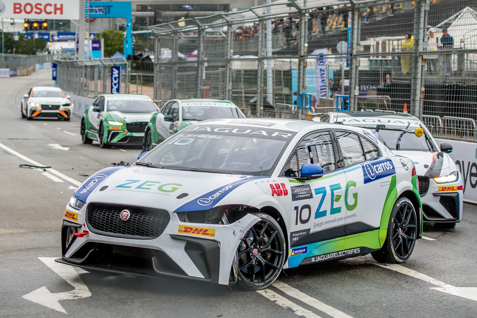 Photo of eTrophy – Sergio Jimenez brilha em Hong Kong com terceiro pódio seguido para Jaguar Brazil Racing
