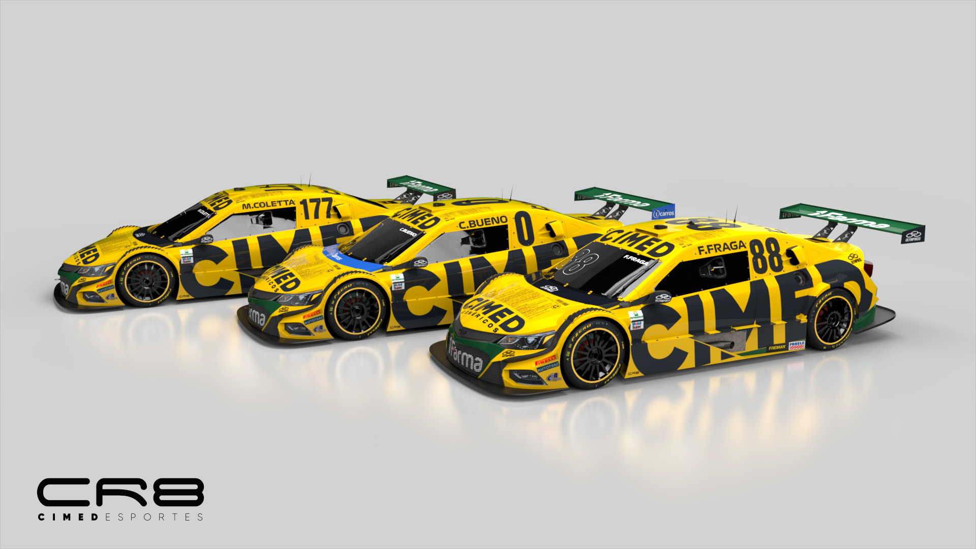 Photo of Stock Car – Cimed Racing apresenta layout do carro de 2019 com manifesto: atitude!