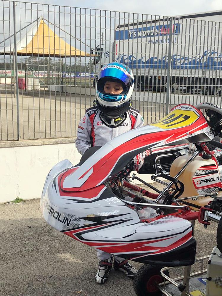 Photo of Kart – Vinícius Tessaro disputou 3ª etapa do WSK Super Master Series e se prepara para novo compromisso