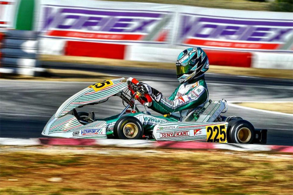 Photo of Kart – Matheus Morgatto chega em 8º na terceira do WSK