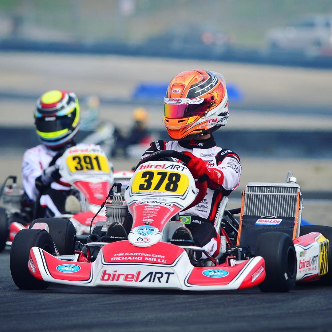 Photo of Kart – Com 2º lugar na corrida 1, Arthur Leist busca título na última etapa do Florida Winter Tour