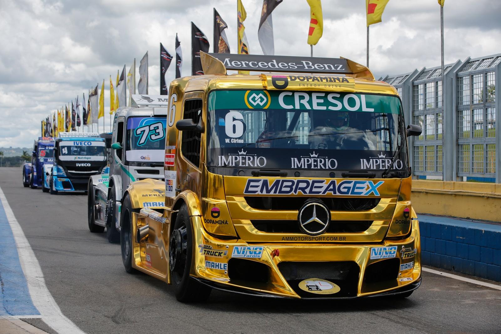 Photo of Truck – Giaffone faz história ao cravar pole na estreia da nova equipe Usual Racing