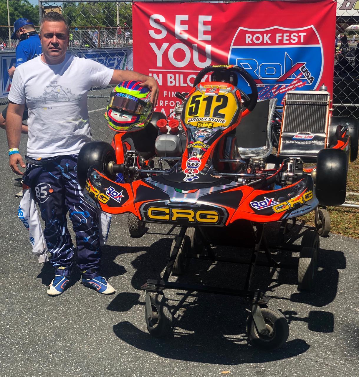 Photo of Kart – Adriano Amaral surpreende na estreia em Ocala no Florida Winter Tour