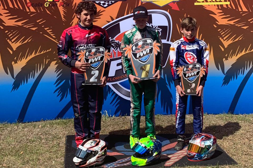 Photo of Kart – NF SPORTS conseguiu duplo pódio na etapa final do Florida Winter Tour