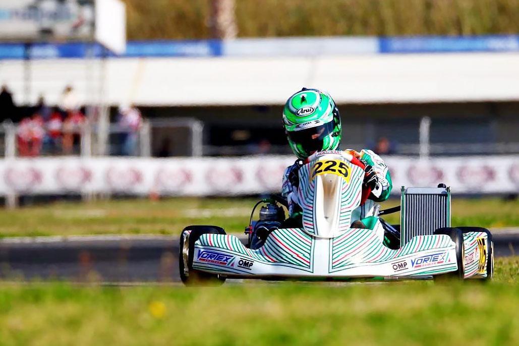 Photo of Kart – Acidente tirou chances de pódio Matheus Morgatto na final do WSK Super Master