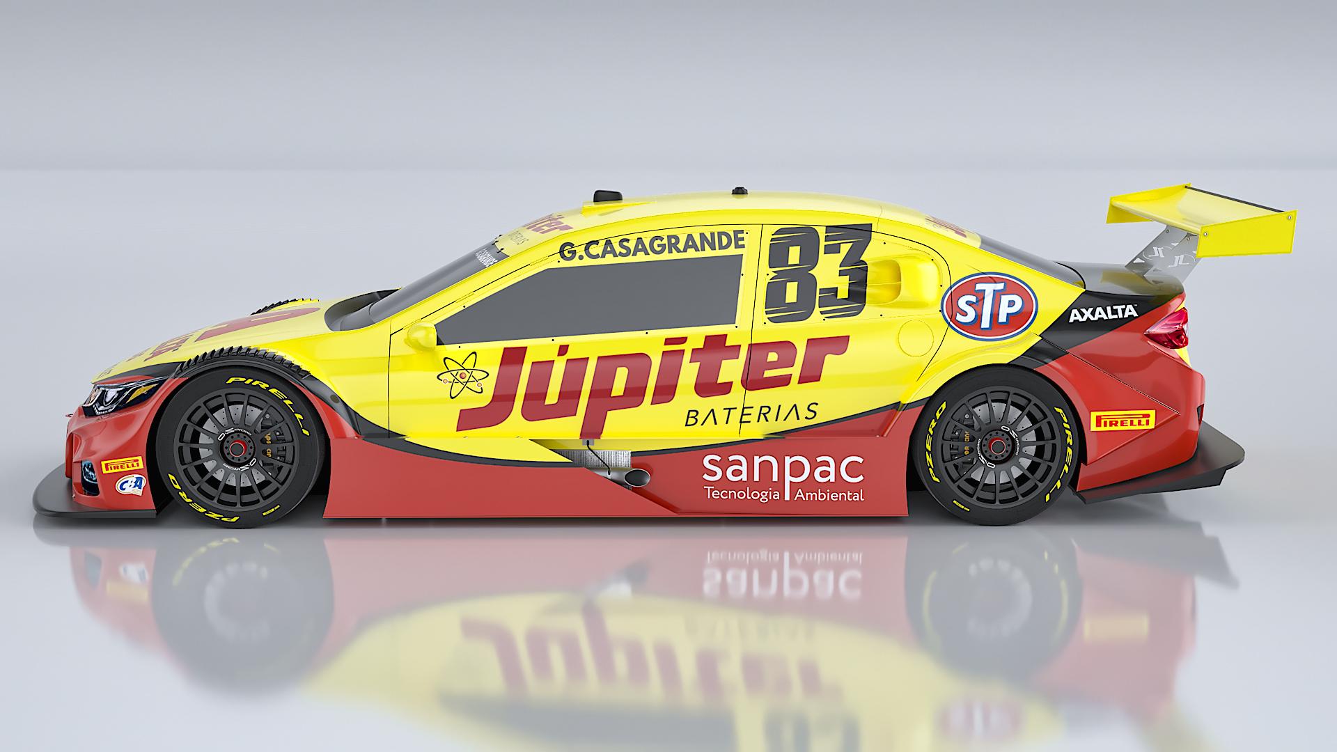 Photo of Stock Car – Gabriel Casagrande estreia pela Crown Racing no 500º GP da Stock Car