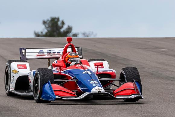 Photo of Indy Car – Matheus Leist é o quarto melhor Chevrolet no grid e larga entre 2 Penskes de campeões da Indy
