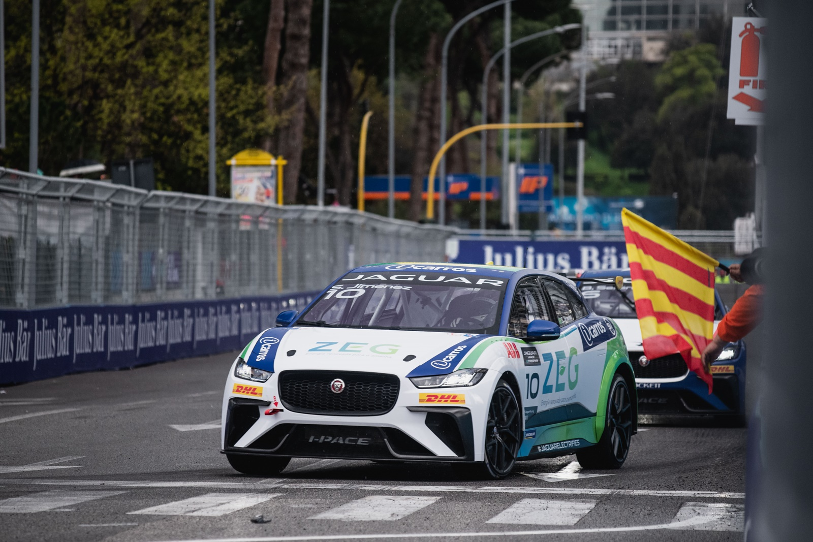 Photo of eTrophy – Sérgio Jimenez vence em Roma e assume liderança do Jaguar I-Pace e-TROPHY