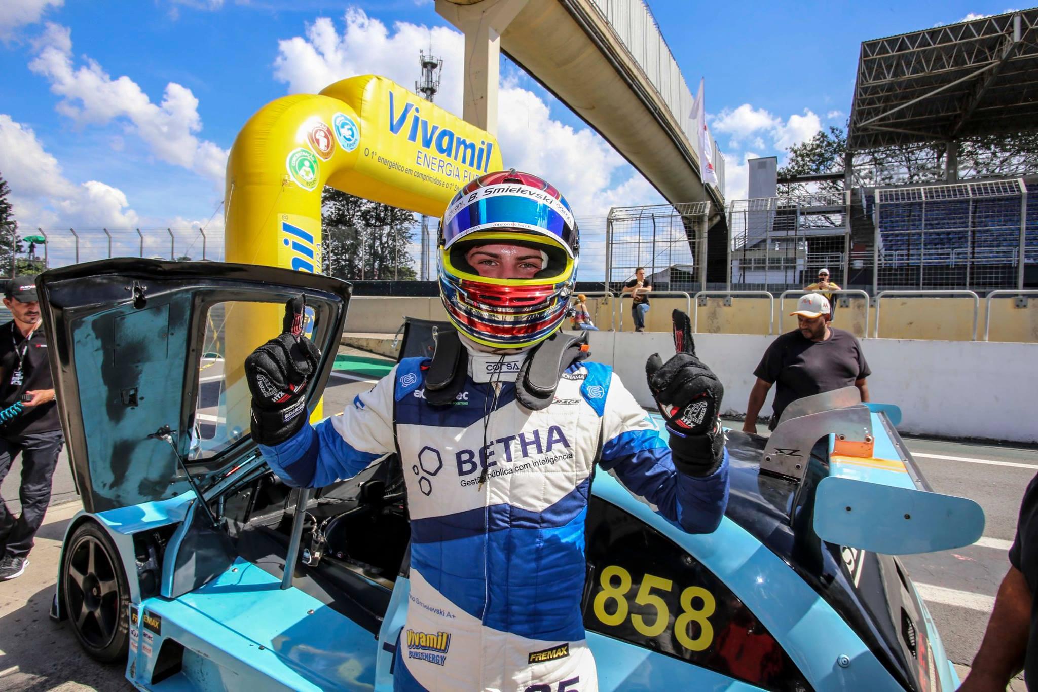 Photo of Sprint Race – Bruno Smielevski venceu na Sprint Race em sua estreia no Autódromo de Interlagos