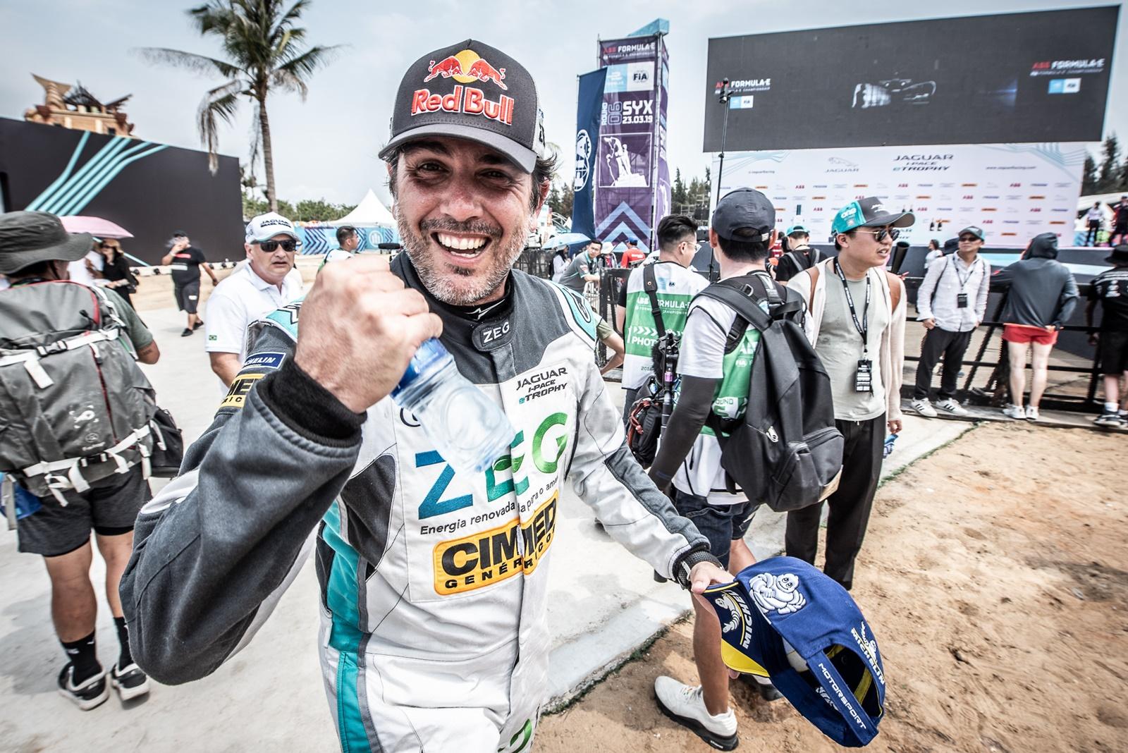 Photo of eTrophy – Jaguar Brazil Racing faz dobradinha no grid em Mônaco, com Cacá na pole e Jimenez em 2º