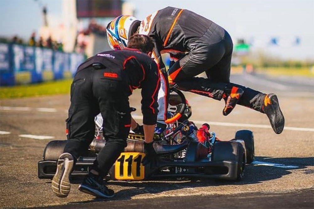 Photo of Kart – Gabriel Bortoleto abriu Europeu de Kart no sexto lugar