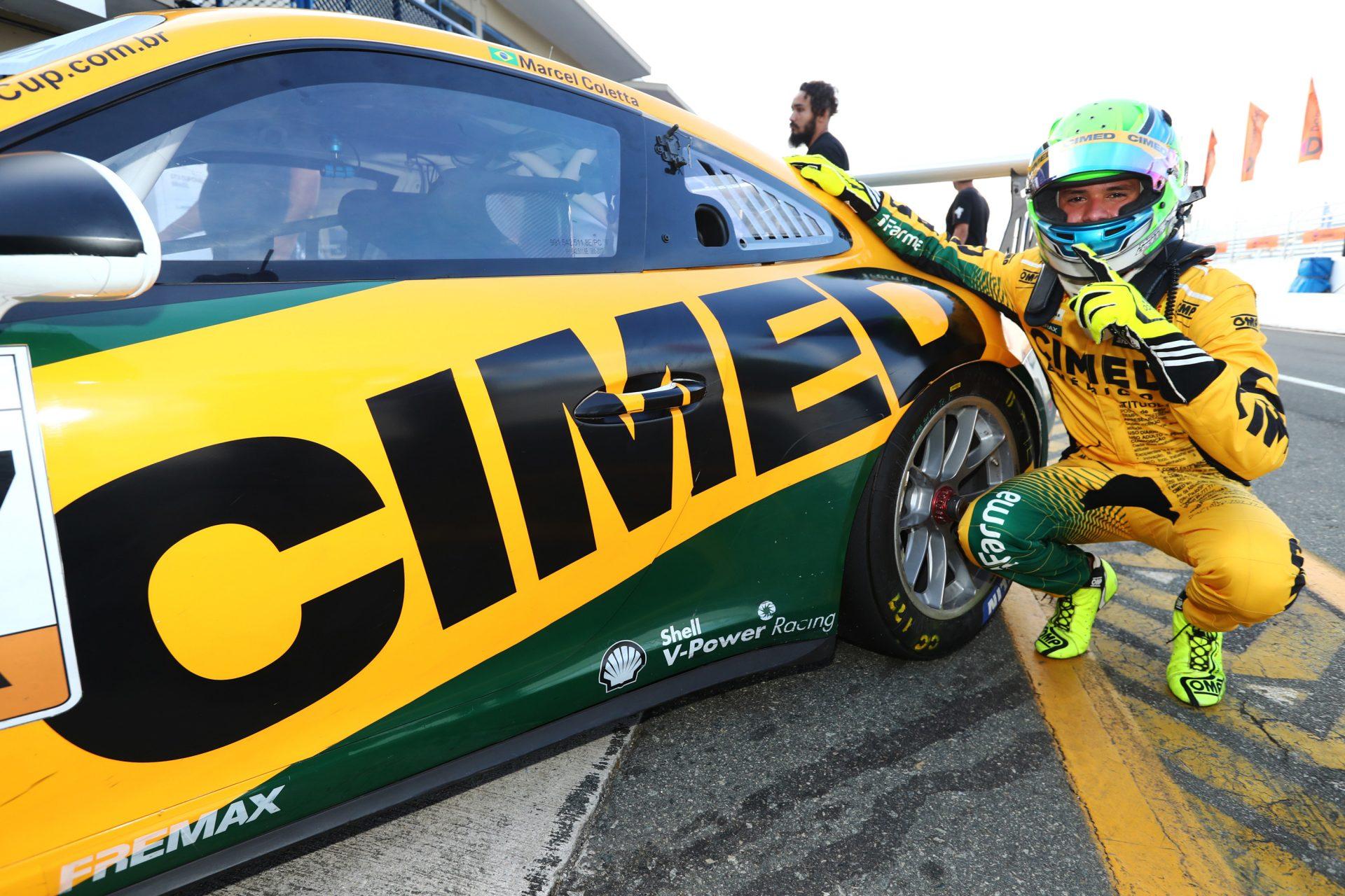 Photo of Porsche Cup – Marcel Coletta conquista pole e pódio no Porsche Cup antes de sua 2ª prova na Stock Car