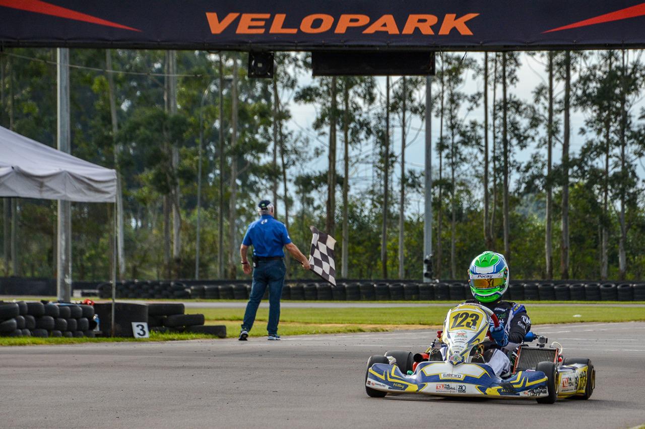 Photo of Kart – João Luís Pocay foi destaque na Graduados em sua estreia no Kartódromo Velopark