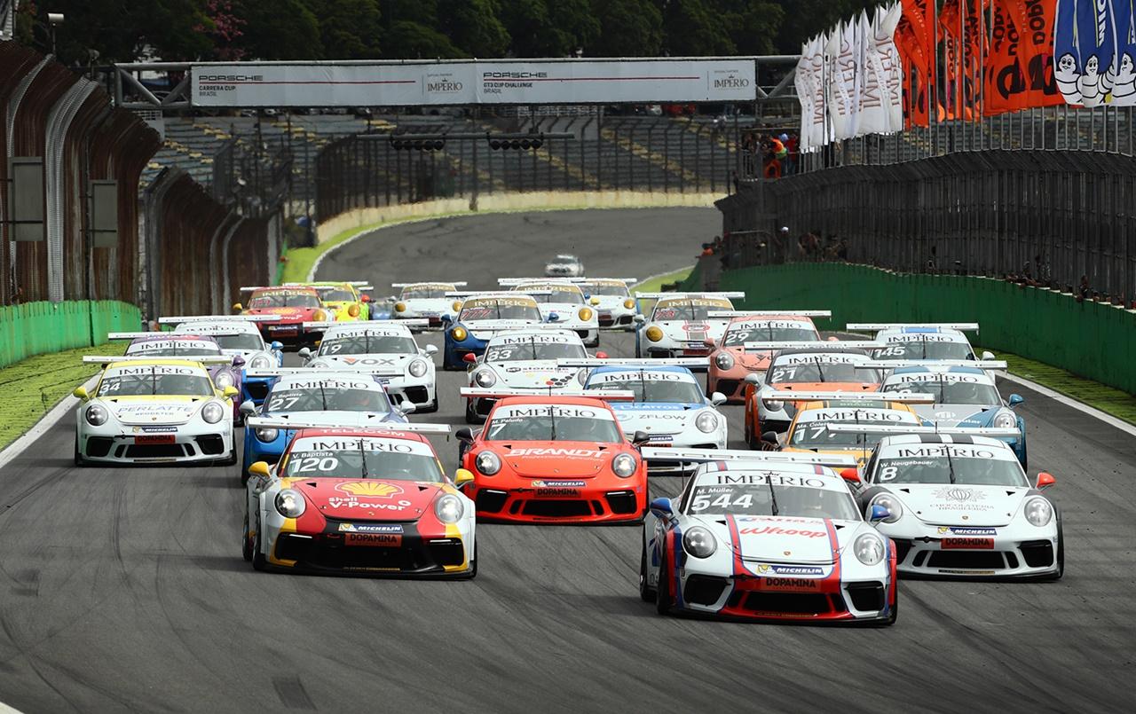 Photo of Porsche Cup – Porsche Império Carrera Cup chega a Curitiba com grid cheio e retoma formato de quatro provas
