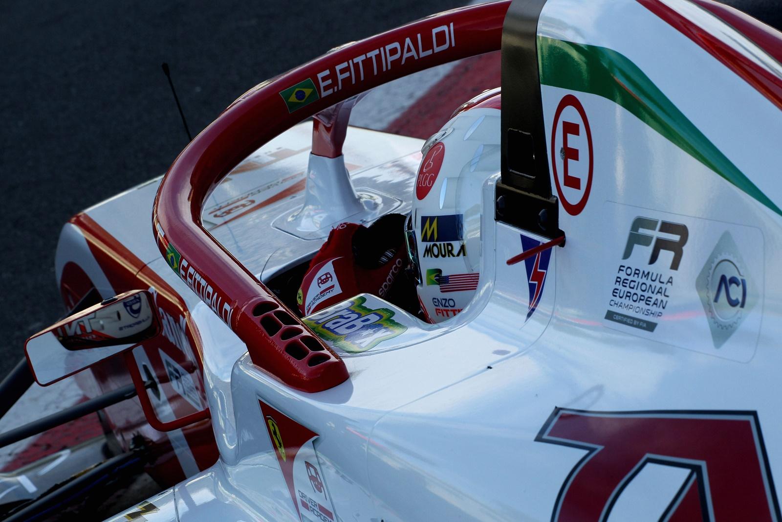 Photo of F3 – Enzo Fittipaldi lidera primeiro treino da F3 Regional Europeia na Itália