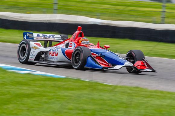 Photo of Indy – Matheus Leist brilha em Indianápolis e conquista 4º lugar, melhor resultado da Foyt em 5 anos