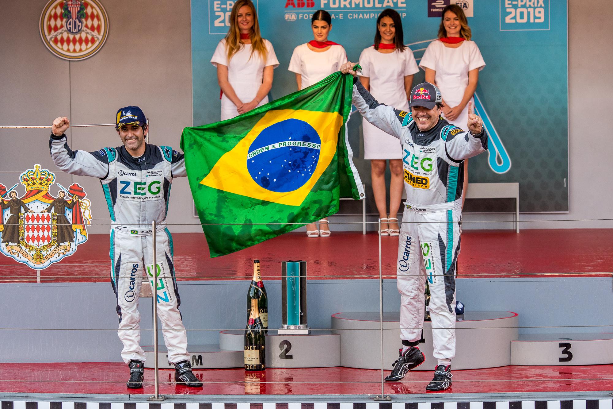 Photo of eTrophy – Cacá Bueno vence e Jimenez completa dobradinha brasileira no Jaguar I-PACE e-TROPHY em Mônaco