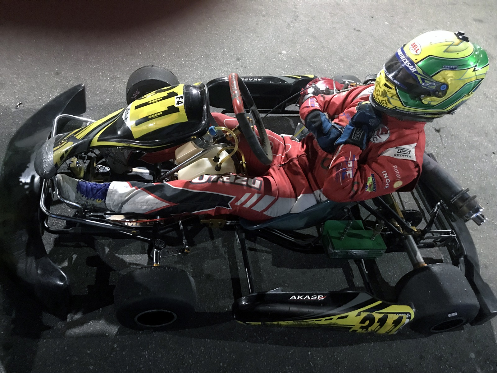Photo of Kart –  No Dia do Automóvel, Alberto Otazú corre de F4 na Akasp