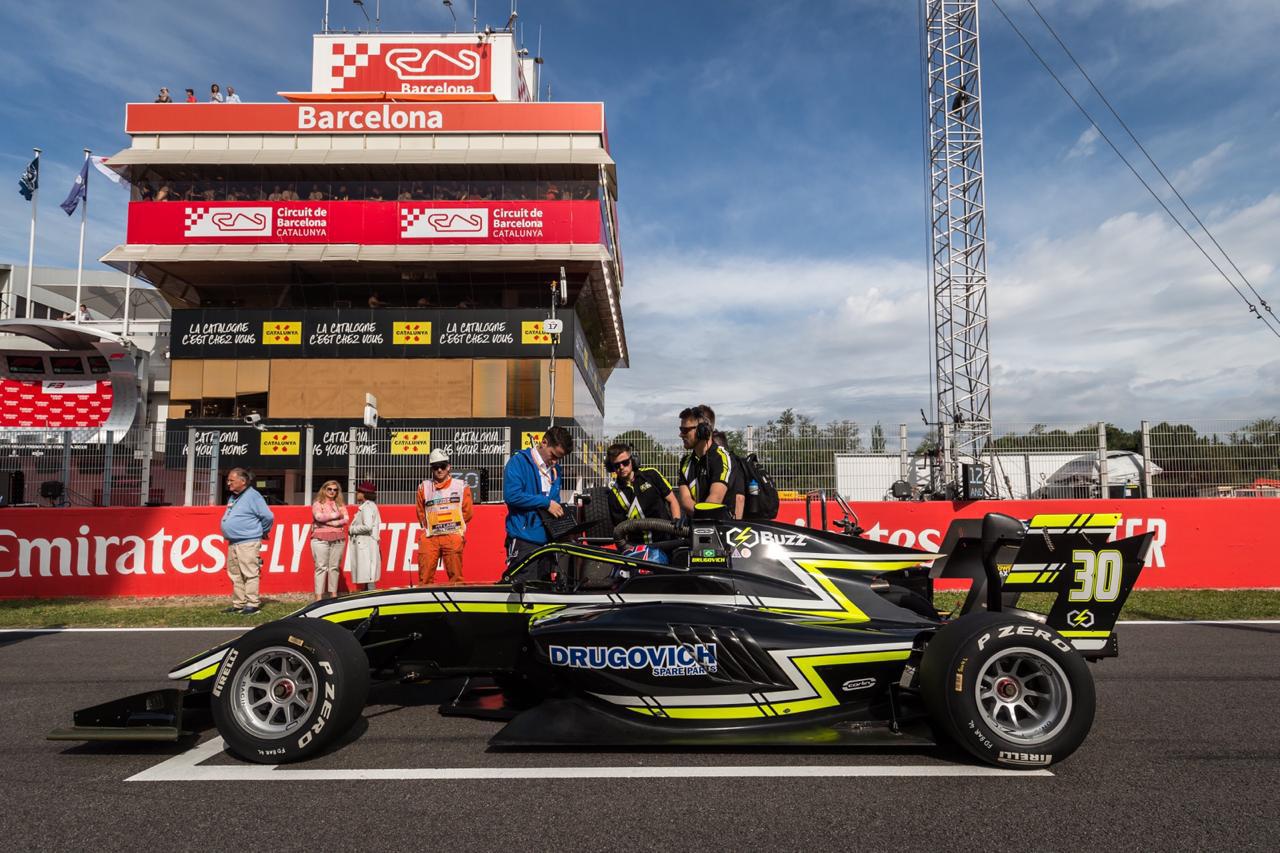Photo of F3 – Felipe Drugovich tem balanço positivo após sua estreia no Campeonato de Fórmula 3 FIA em Barcelona