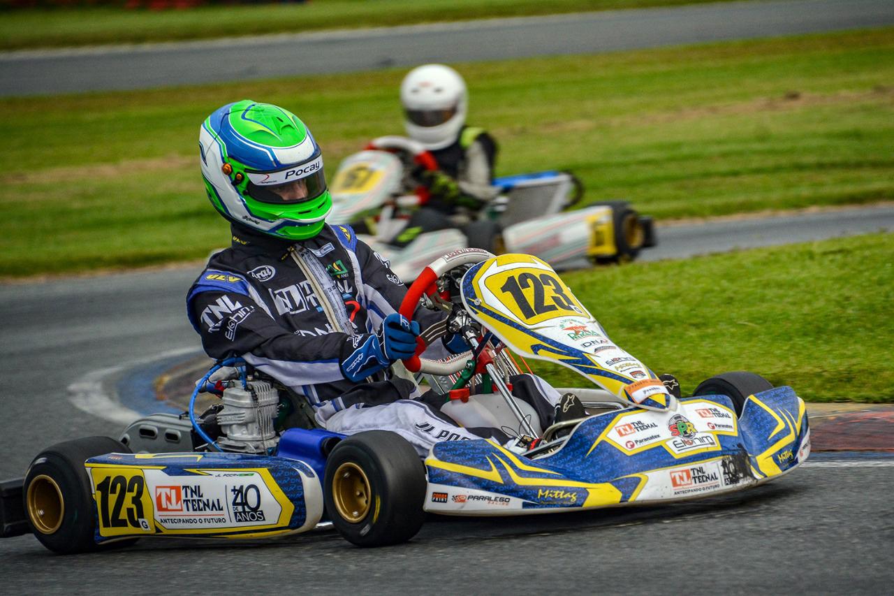 Photo of Kart – João Luís Pocay conquistou pódio pela Graduados na 2ª etapa da Copa SPR Light de Kart