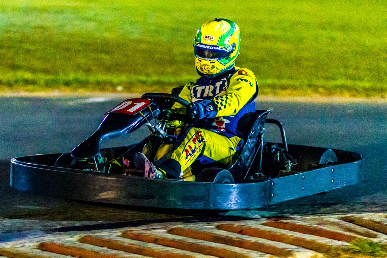 Photo of Kart – Taça Ayrton Senna de Kart: Alberto Otazú quer manter invencibilidade
