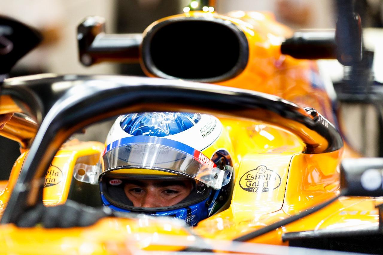 Photo of F1 – Em Barcelona Sérgio Sette voltou a testar um carro de F-1