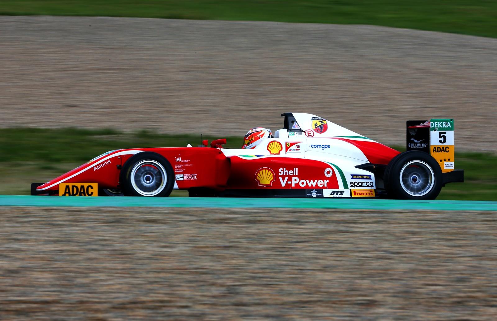 Photo of F4 – Após vencer na estreia pelo Alemão de Fórmula 4, Gianluca Petecof estreia no Italiano em Vallelunga
