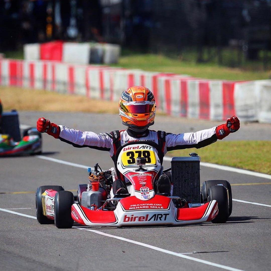 Photo of Kart – Arthur Leist é campeão nos EUA e conquista vaga para o Mundial Rok de kart na Itália