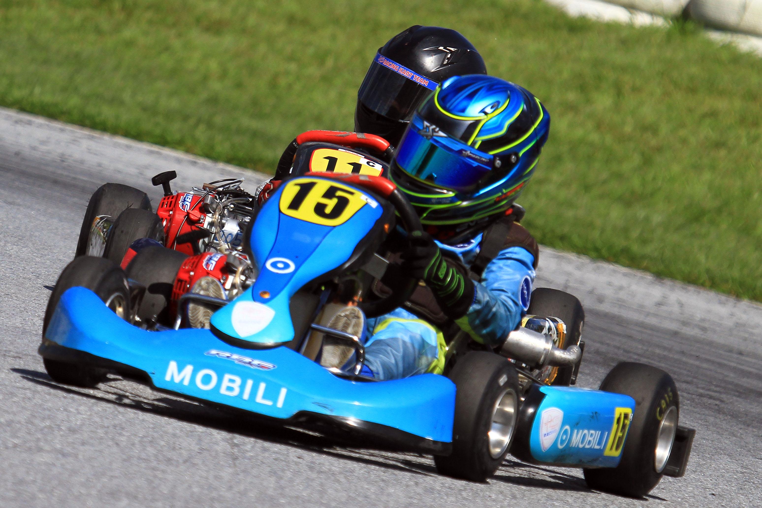 Photo of Kart – Piloto Lucas Moura teve sua primeira experiência internacional