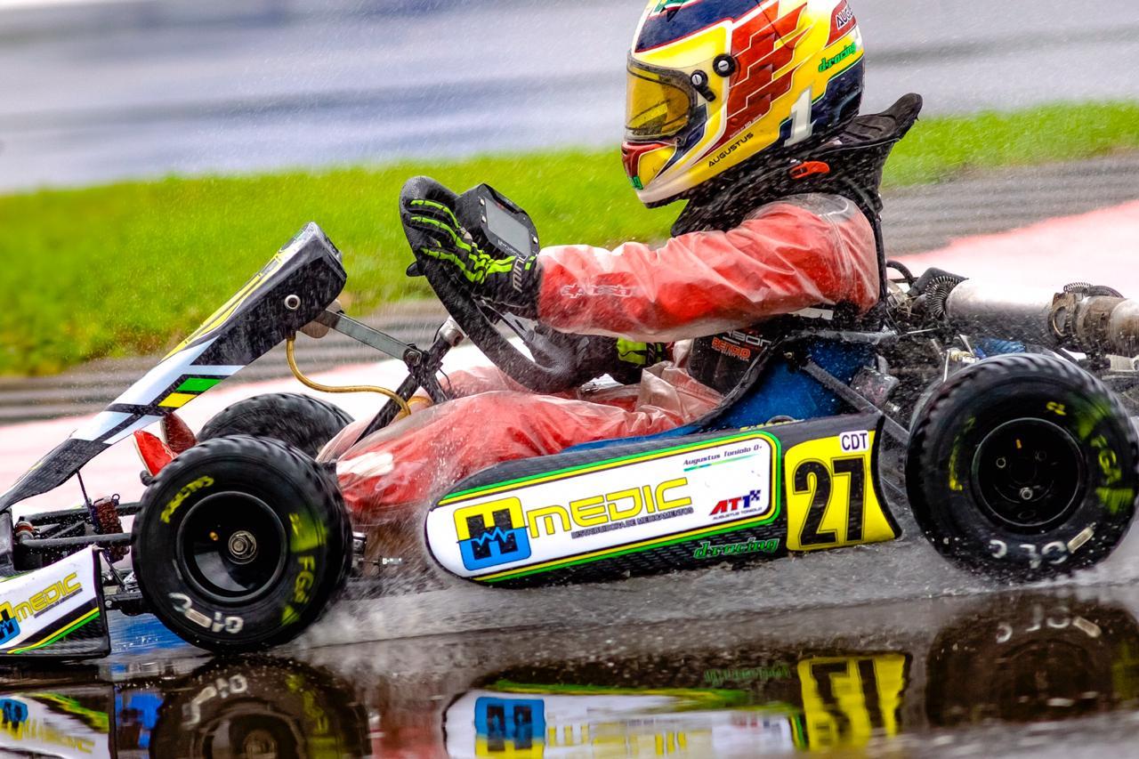 Photo of Kart – Lewis Hamilton inspira campeão do kart brasileiro de 8 anos até no capacete: Augustus Toniolo