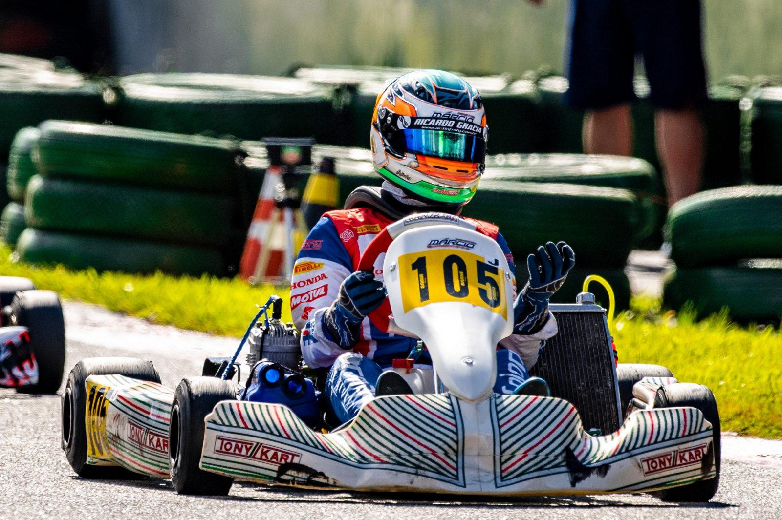 Photo of Kart – Ricardo Gracia inicia maratona de corridas no Open Brasileiro de Kart em Cascavel