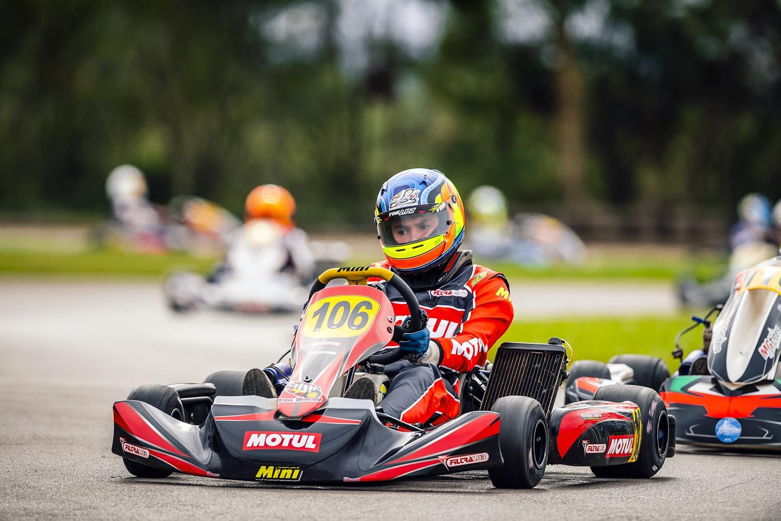 Photo of Kart – Nicolas Fabris disputa o Open em Cascavel em busca dos últimos acertos para o Brasileiro de Kart