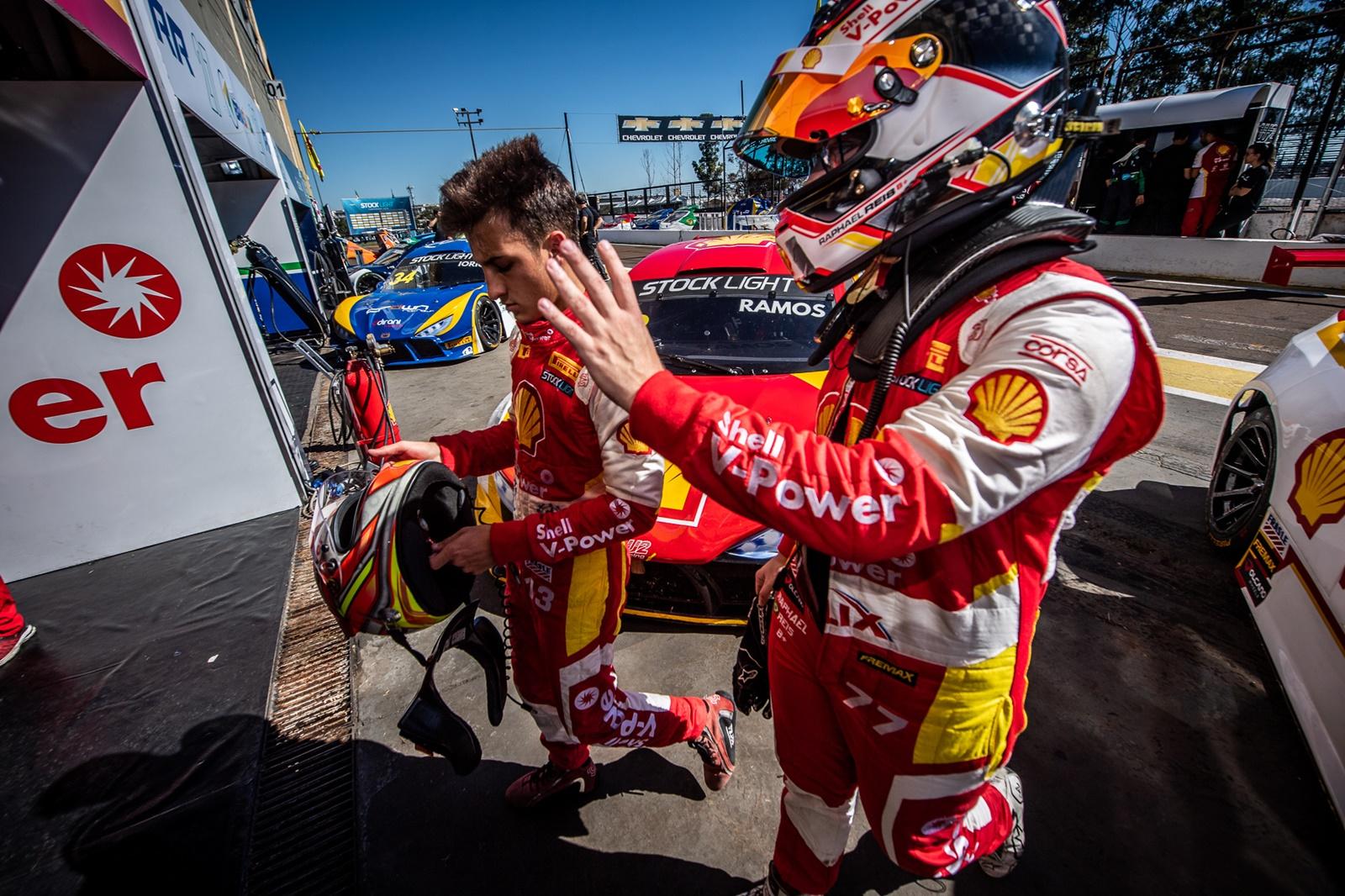Photo of Stock Light – Quinto na corrida 1, piloto Shell Diego Ramos é o melhor estreante da Stock Light em Londrina