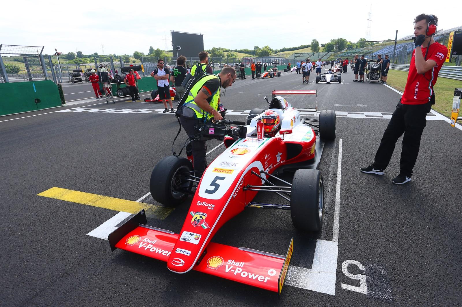 Photo of F4 – Gianluca Petecof volta a Spielberg para tentar ampliar a vantagem na liderança do Italiano de Fórmula 4