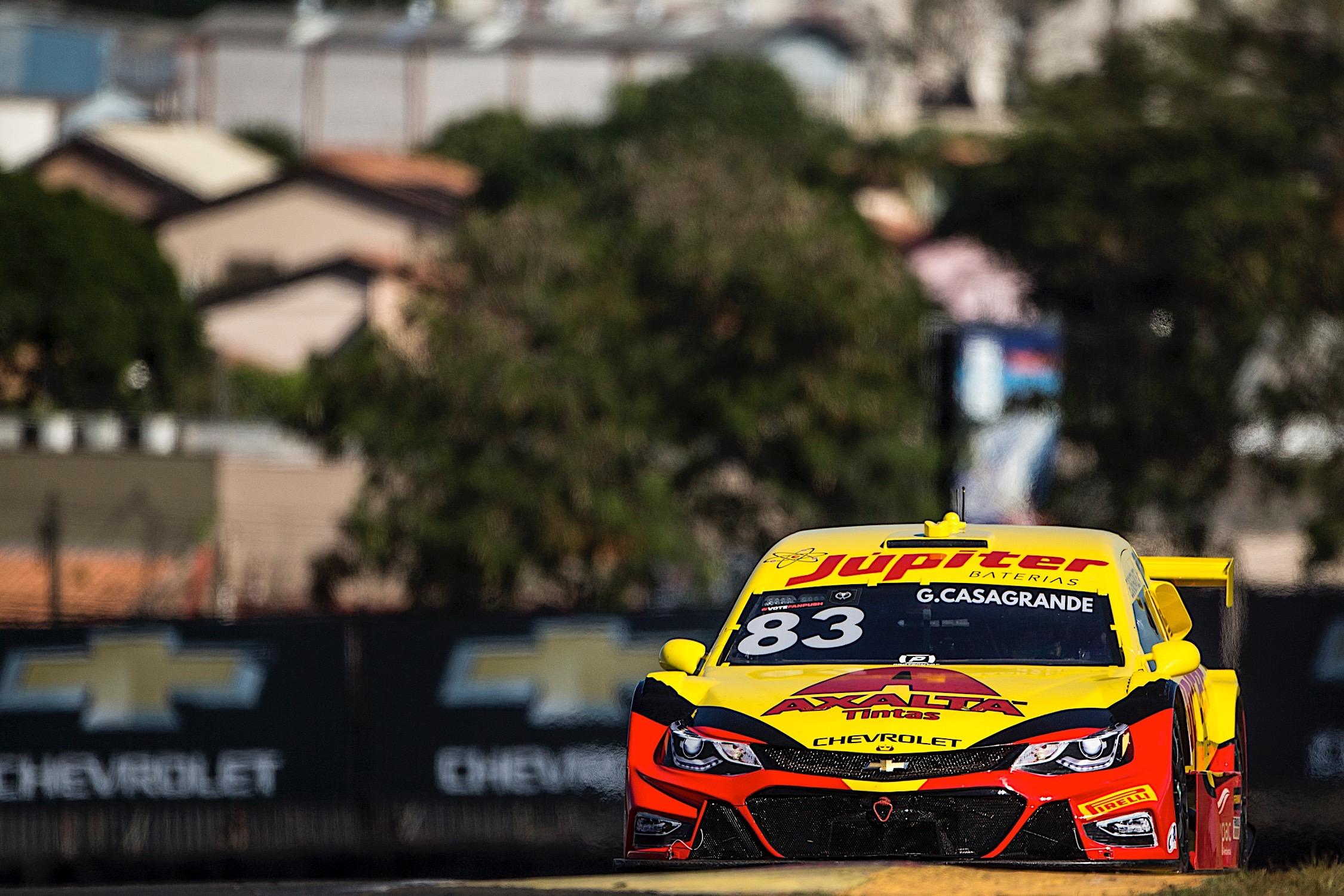 Photo of Stock Car – Pódio no primeiro final de semana curto de 2019, Casagrande destaca potencial da Crown Racing no Sul