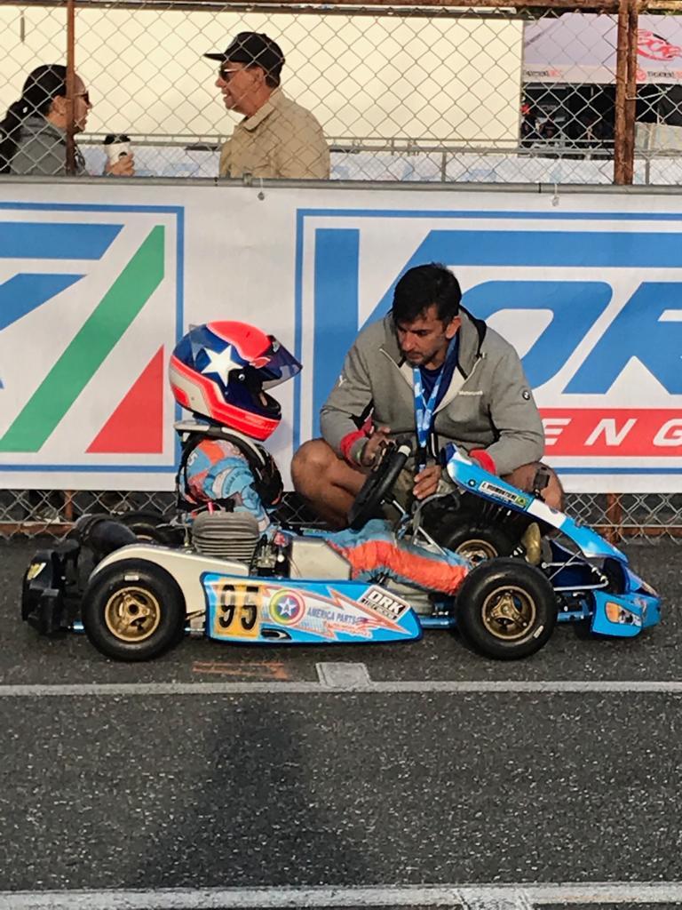 Photo of Kart – Enzo Vidmontiene conquista segundo lugar no Karting Challenge de Miami