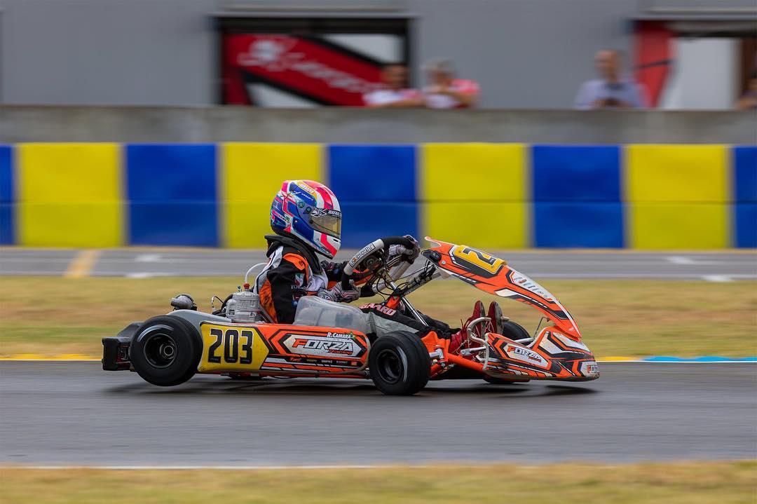Photo of Kart – Com quatro top-5 nas classificatórias, Rafael Câmara fecha Europeu de Kart com top-10 na final