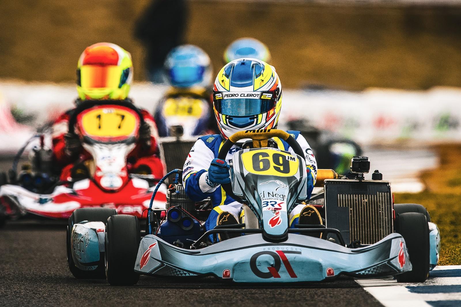Photo of kart – Manobra imprudente de concorrente tirou chances de Pedro Clerot vencer o Brasileiro de Kart