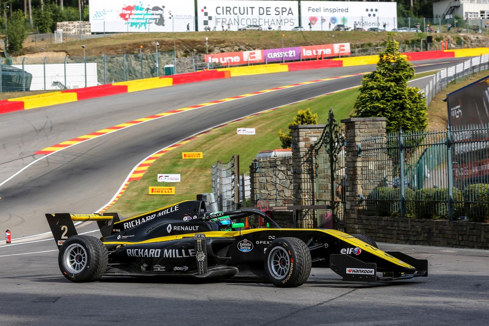 Photo of F-Renault Eurocup – Com grande atuação, Collet vence entre os estreantes e é 2º no geral em Spa