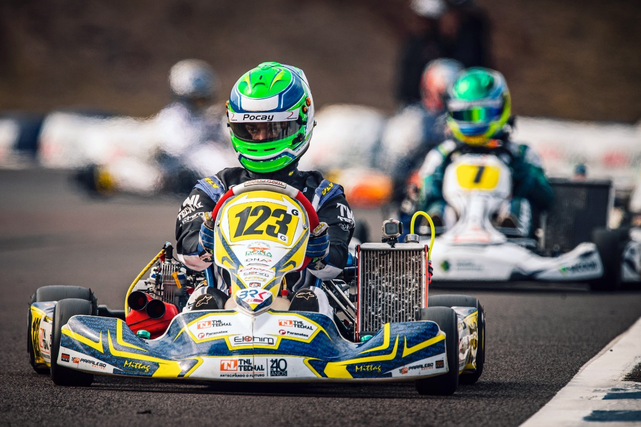 Photo of Kart – João Luís Pocay mostrou evolução e terminou a Graduados em 8º no Campeonato Brasileiro de Kart