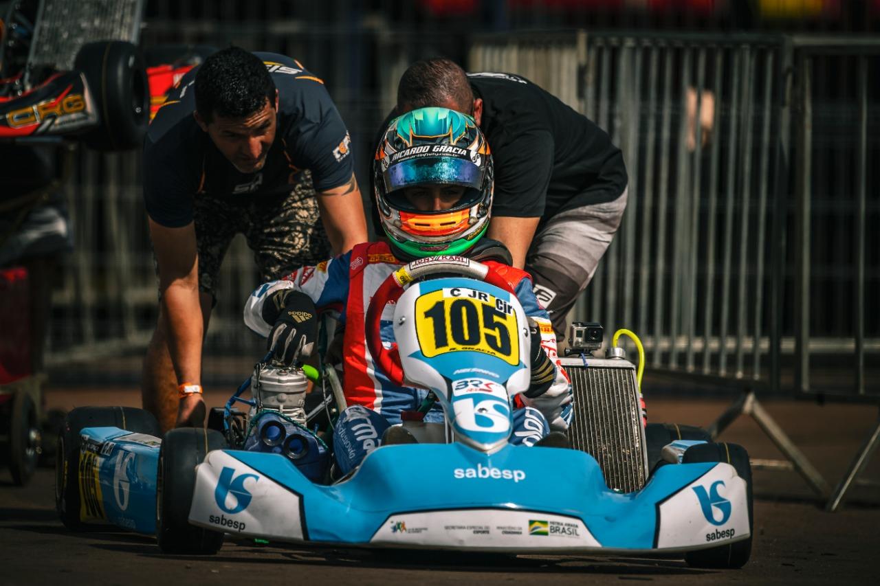 Photo of Kart – Após boas provas no Brasileiro, Ricardo Gracia intensifica preparação para o Mundial de Kart