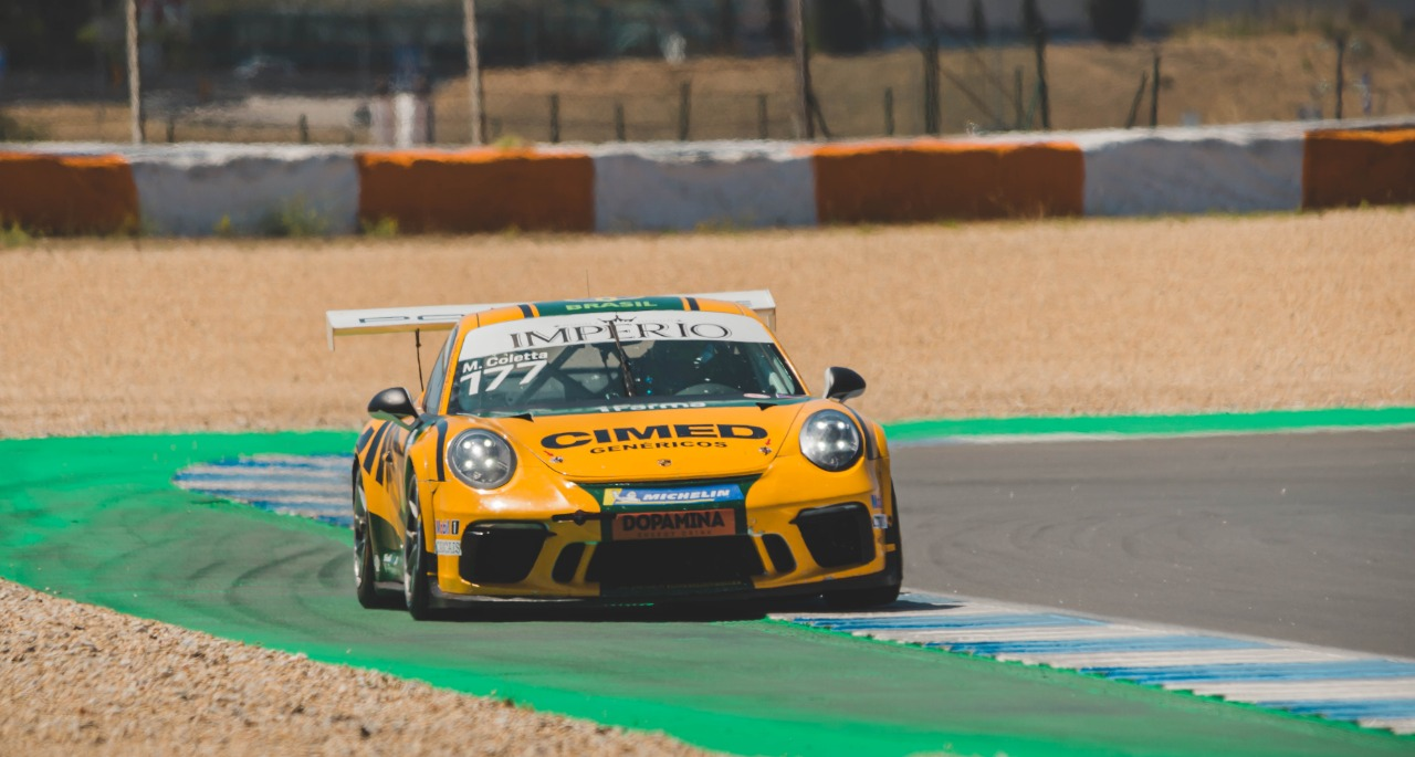 Photo of Porsche – Marcel Coletta conquista pole e pódio com a Porsche em sua 1ª prova internacional