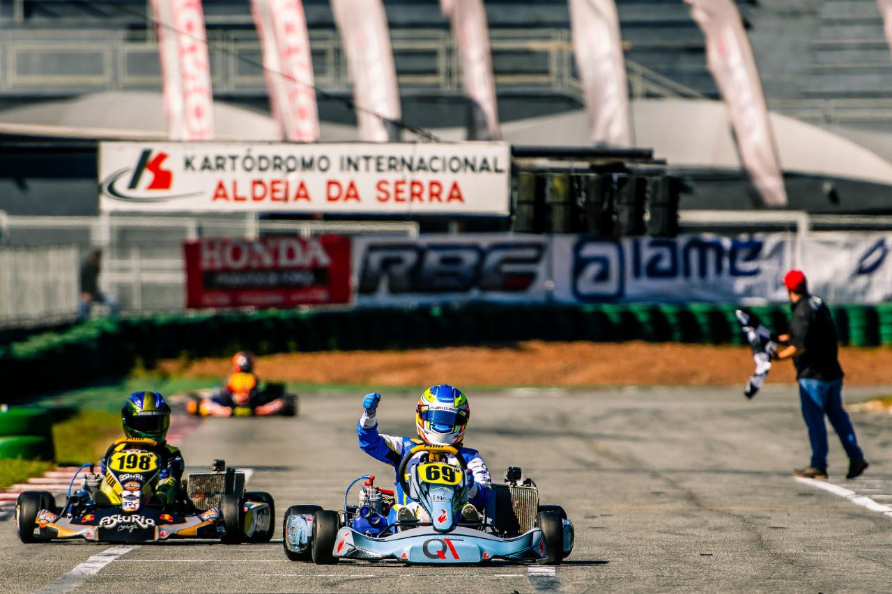 Photo of Kart – Terceira vitória consecutiva amplia liderança de Pedro Clerot na Copa São Paulo Light de Kart