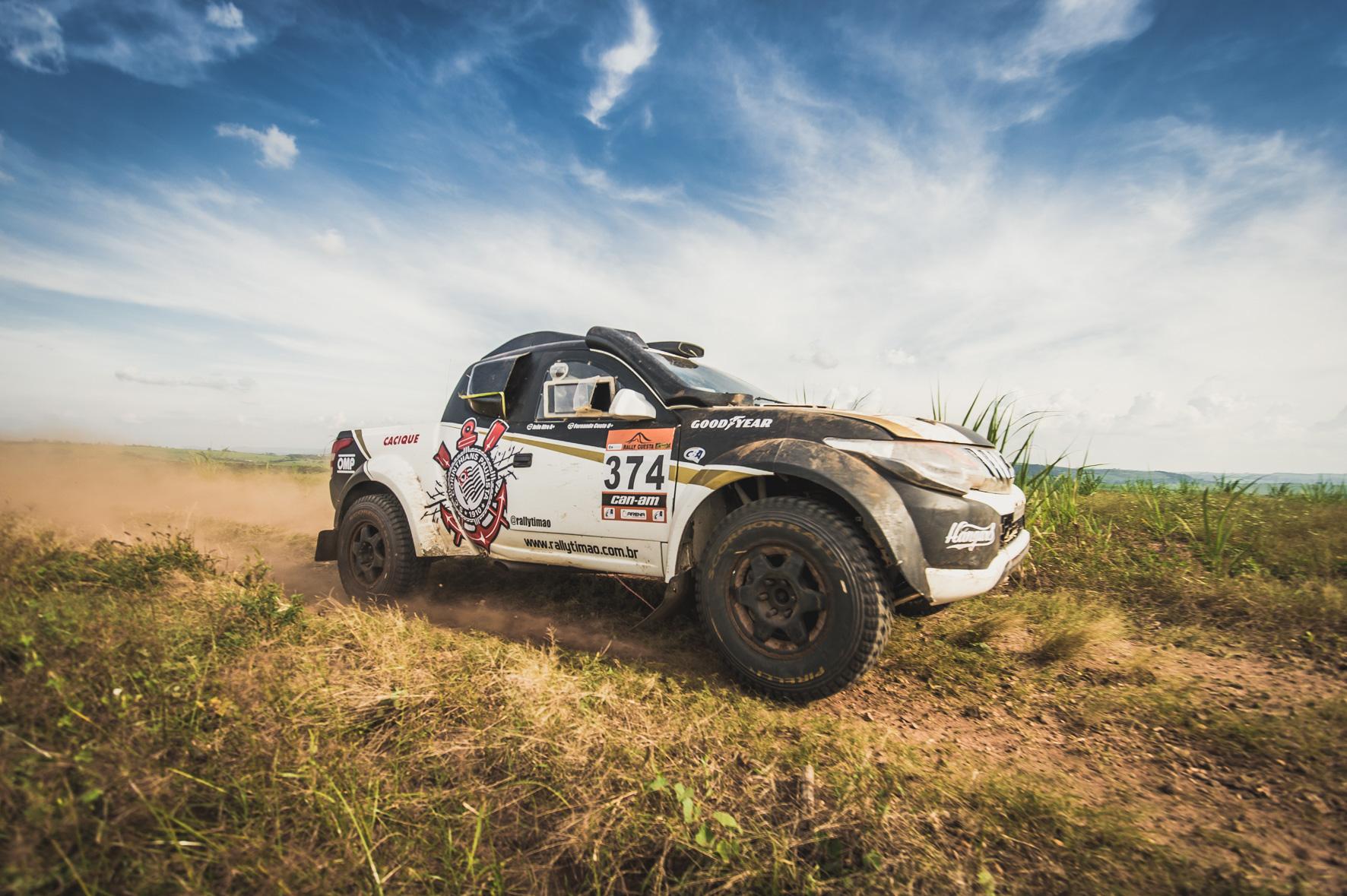 Photo of Rally – Dupla do Corinthians Rally Team está em contagem regressiva para o Sertões