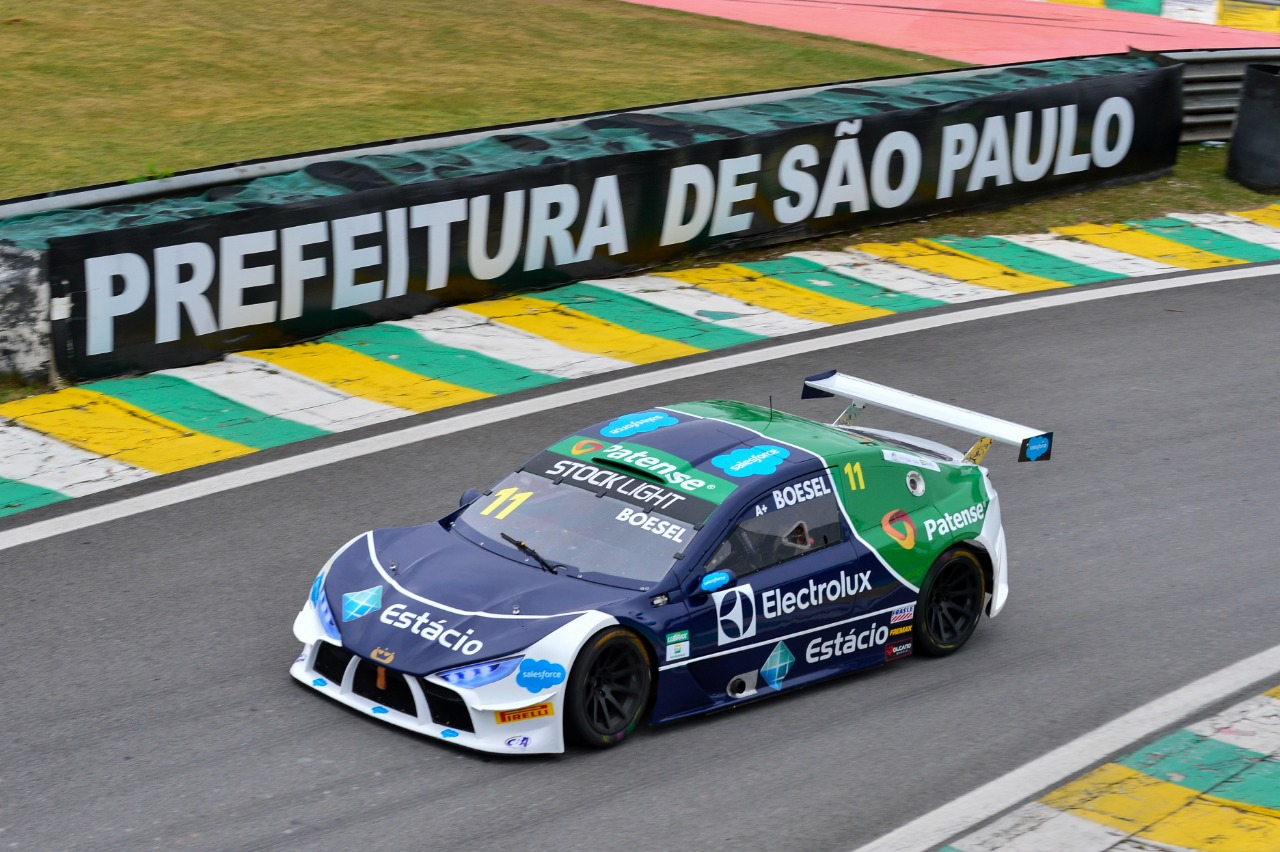 Photo of Stock Light – Pedro Boesel é o segundo mais rápido do dia em Interlagos na Stock Light