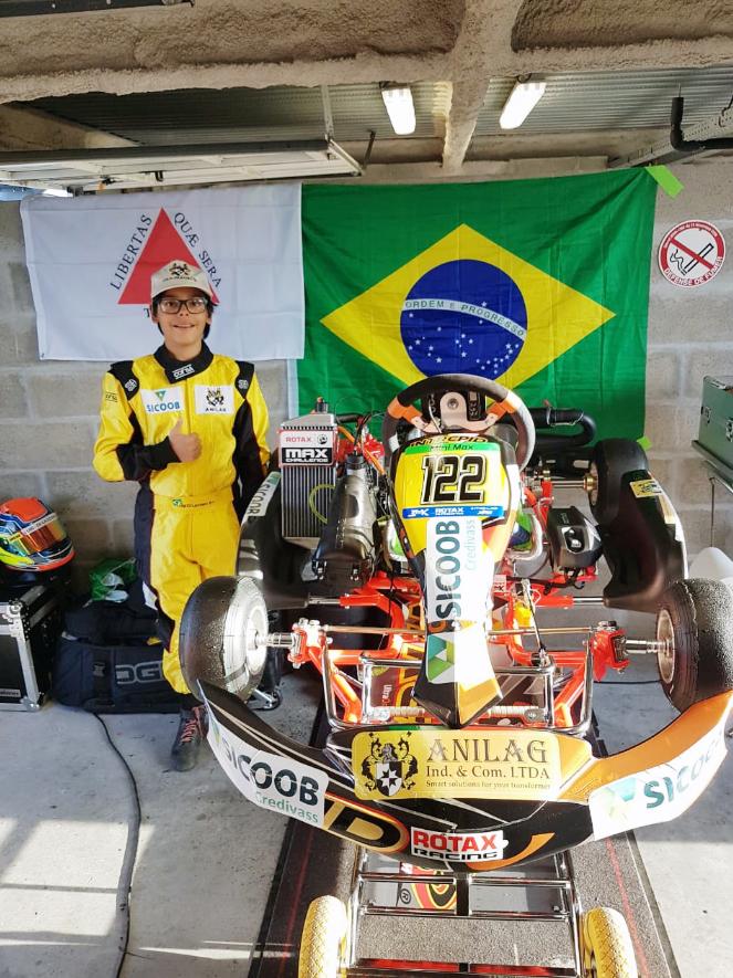 Photo of Kart – Luigi Di Lazzaro brilhou em sua estreia no kartismo internacional
