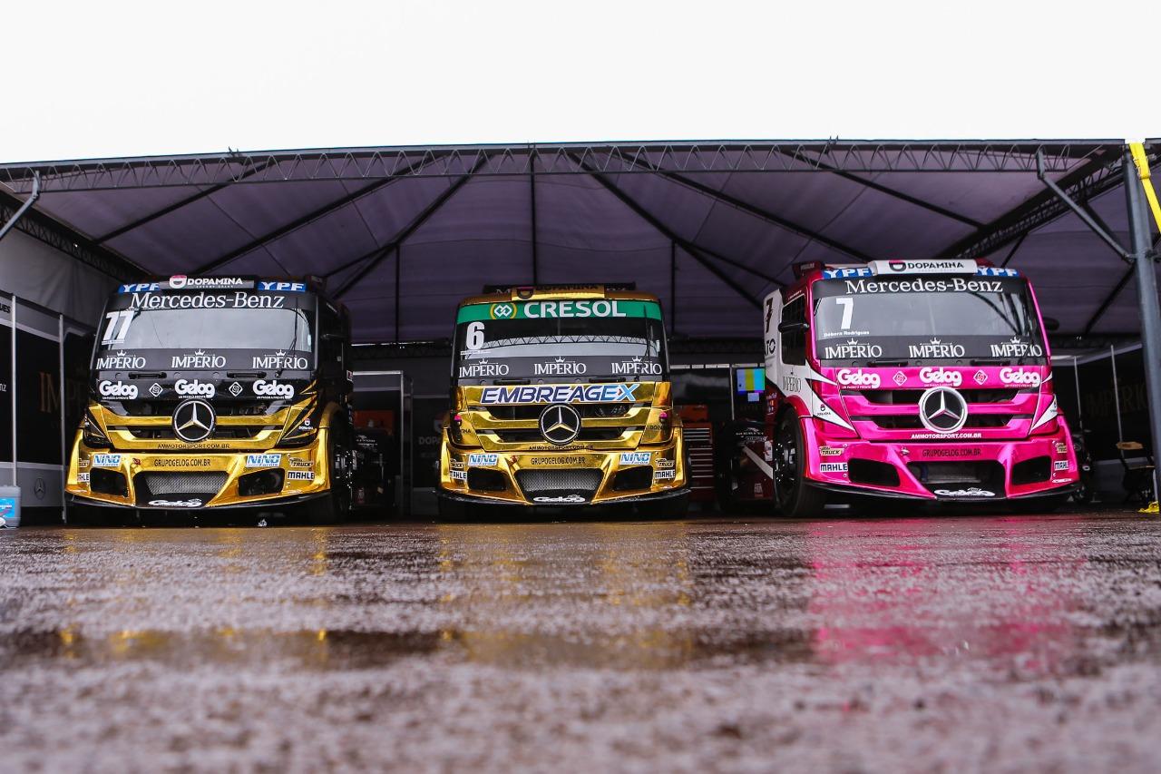 Photo of Truck – Chuva faz equipe poupar equipamento pensando na pole-position