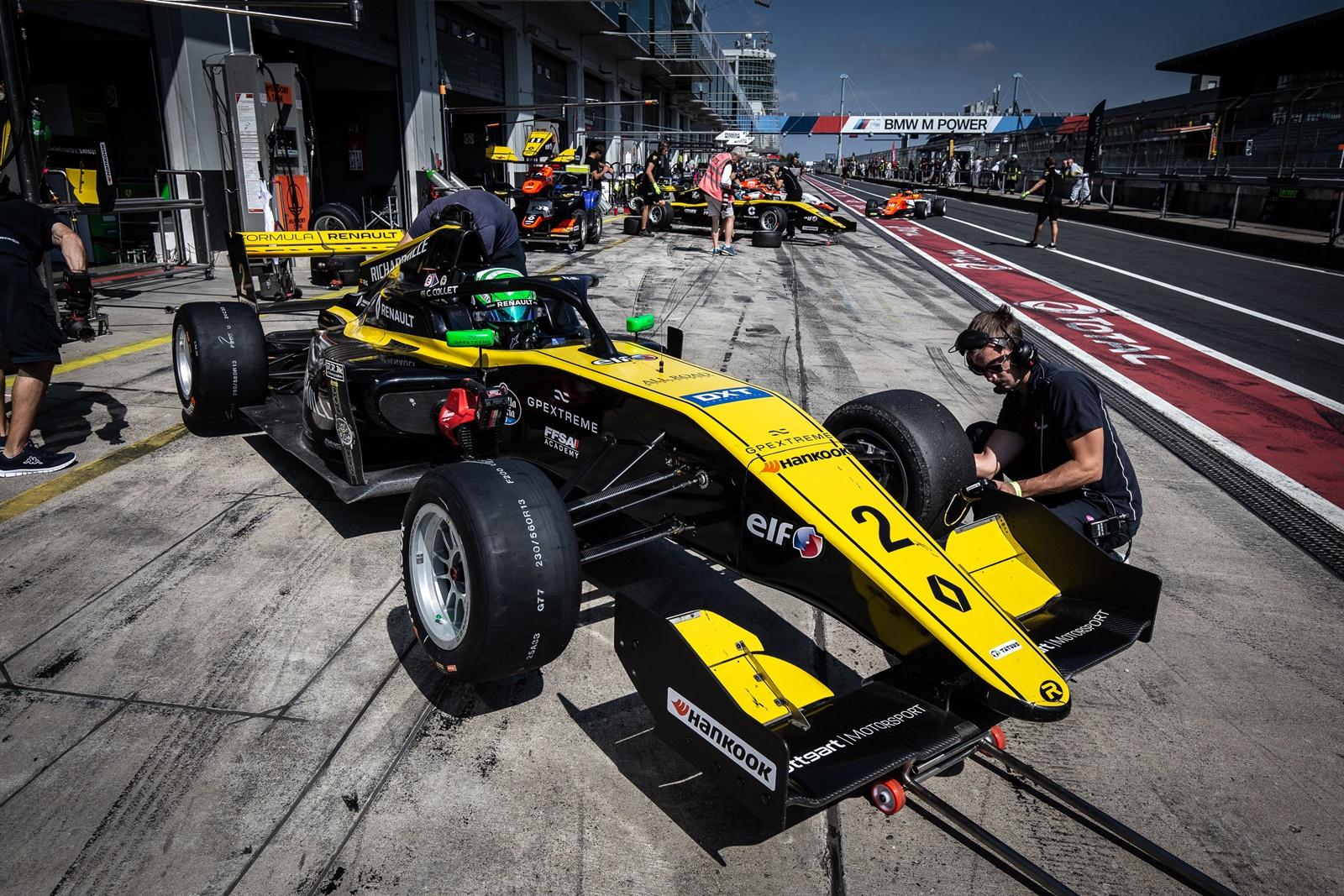 Photo of F-Renault Eurocup – Collet sobe ao pódio em Nurburgring e segue líder entre os estreantes