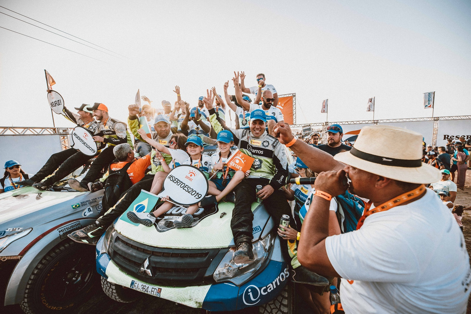 Photo of Rally – Guiga Spinelli e Youssef Haddad terminam o Sertões 2019 em 3º lugar